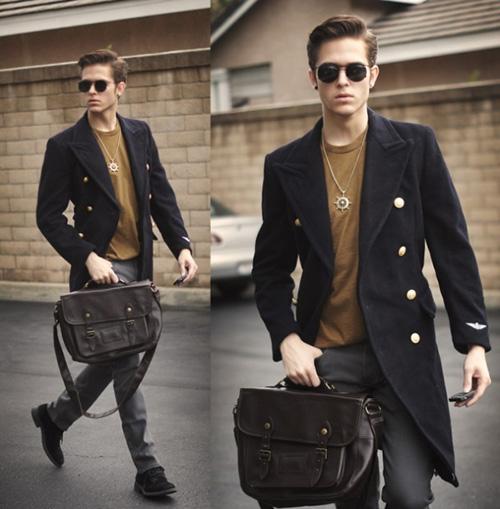 Phái mạnh biến hóa phong cách cùng túi xách da - 4
