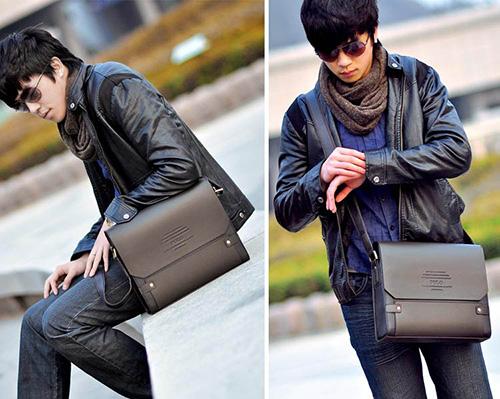 Phái mạnh biến hóa phong cách cùng túi xách da - 3