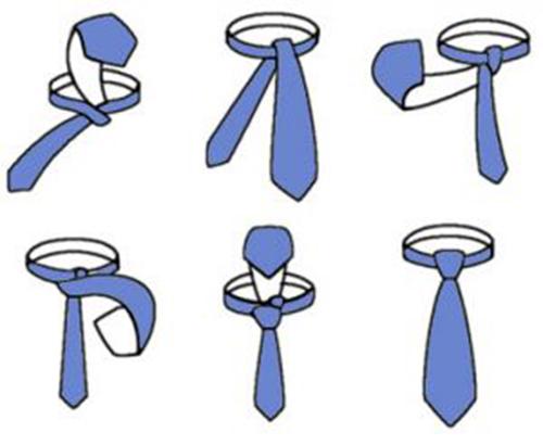 Cách thắt cà vạt nhanh cho nam giới bận rộn - 2
