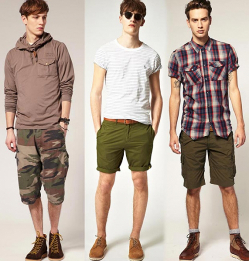 Bí quyết mặc đẹp cùng quần short nam - 2