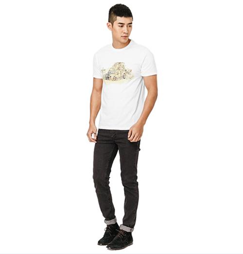 Gợi ý cách phối giày công sở và áo t- shirt cho phái mạnh - 4