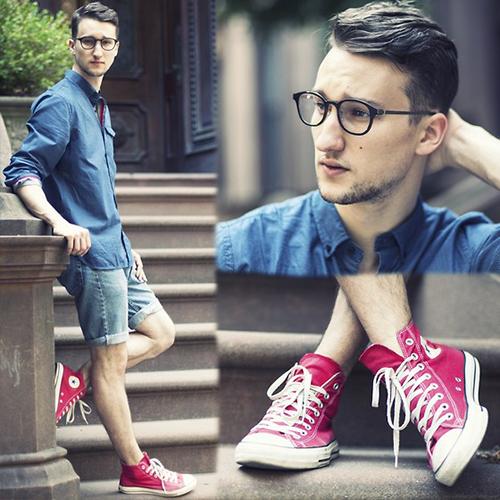 Bí quyết mặc đẹp cùng quần short nam - 4