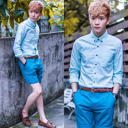 Bí quyết mặc đẹp cùng quần short nam - 7