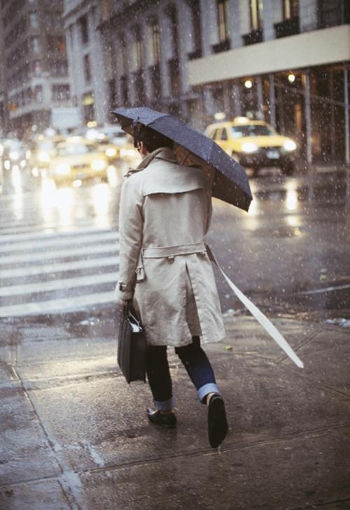 Ngày mưa chàng nên mặc gì - 4