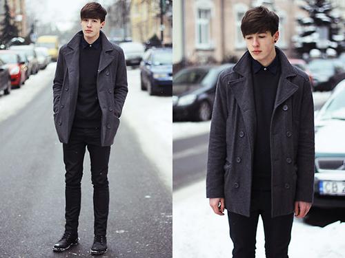 Muôn kiểu áo khoác đẹp cho chàng - 11