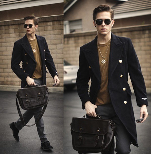 Muôn kiểu áo khoác đẹp cho chàng - 12