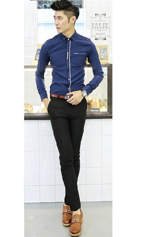 Các mẫu quần giúp tôn dáng chàng công sở - 2