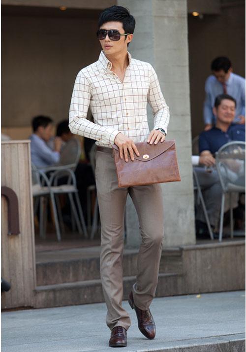 Các mẫu quần giúp tôn dáng chàng công sở - 6
