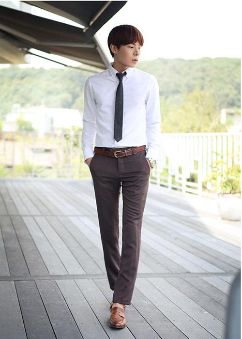 Các mẫu quần giúp tôn dáng chàng công sở - 5