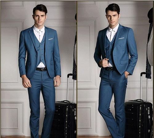 Phái mạnh sang trọng và đẳng cấp với áo vest tông màu xanh - 10
