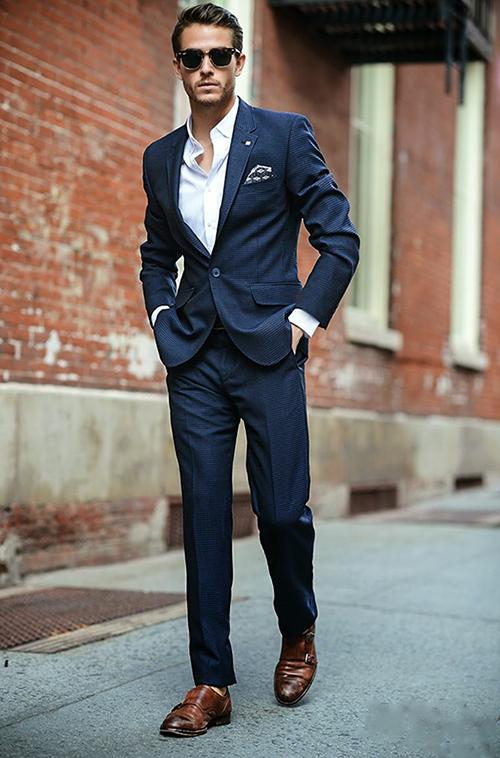 Phái mạnh sang trọng và đẳng cấp với áo vest tông màu xanh - 8