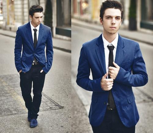 Phái mạnh sang trọng và đẳng cấp với áo vest tông màu xanh - 5