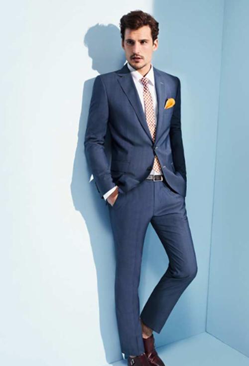 Phái mạnh sang trọng và đẳng cấp với áo vest tông màu xanh - 11