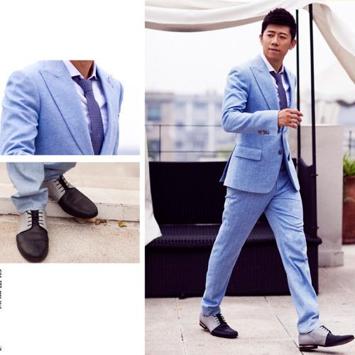 Phái mạnh sang trọng và đẳng cấp với áo vest tông màu xanh - 13