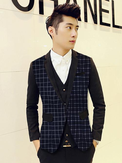 Phái mạnh sang trọng và đẳng cấp với áo vest tông màu xanh - 7