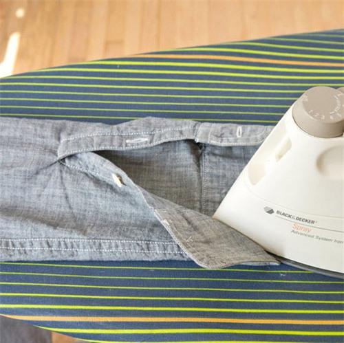 Mẹo ủi áo sơ mi nhanh cho chàng công sở - 4