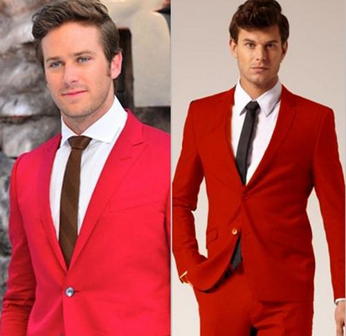 Thay đổi phong cách vào thu cùng vest đỏ - 4