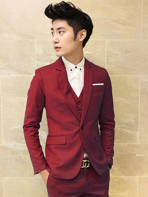 Thay đổi phong cách vào thu cùng vest đỏ - 9