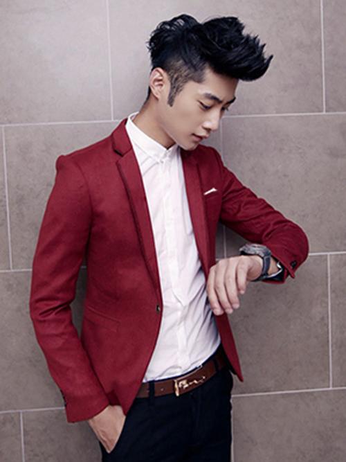 Thay đổi phong cách vào thu cùng vest đỏ - 6