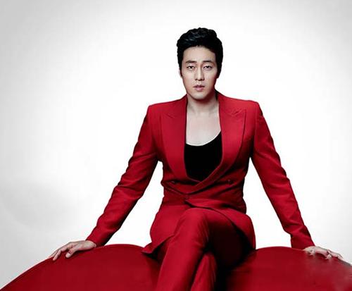 Thay đổi phong cách vào thu cùng vest đỏ - 3