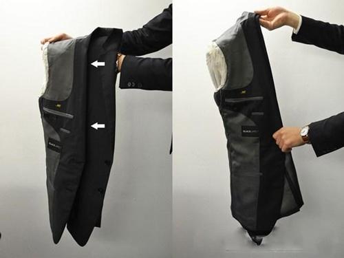 Cách gấp áo vest nhanh cho phái mạnh - 2