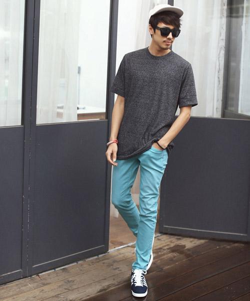 Chàng sành điệu với quần kaki sáng màu - 8