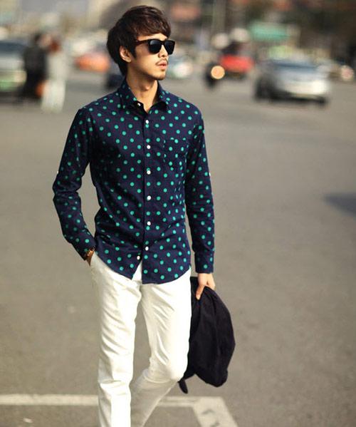 Những kiểu áo sơ mi nam hot nhất hiện nay - 16