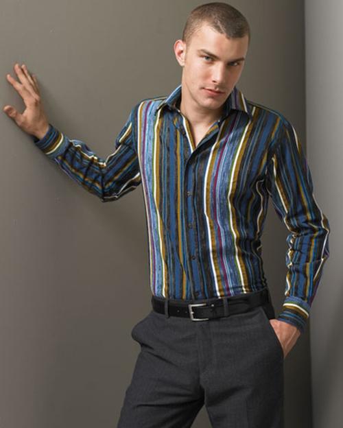 Những kiểu áo sơ mi nam hot nhất hiện nay - 13