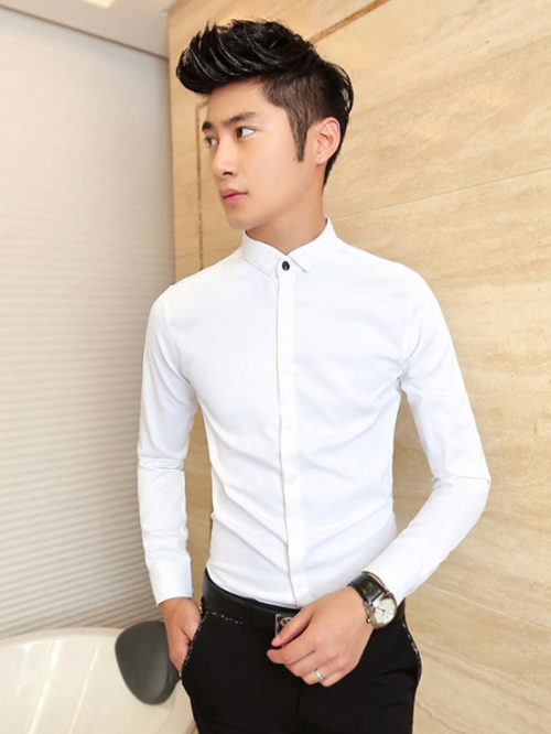 Những kiểu áo sơ mi nam hot nhất hiện nay - 4