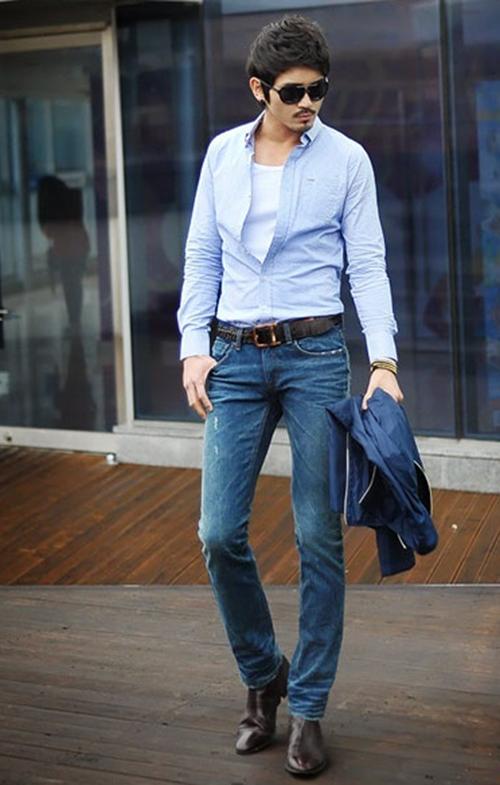 Những lưu ý khi mặc quần jen đến công sở - 2
