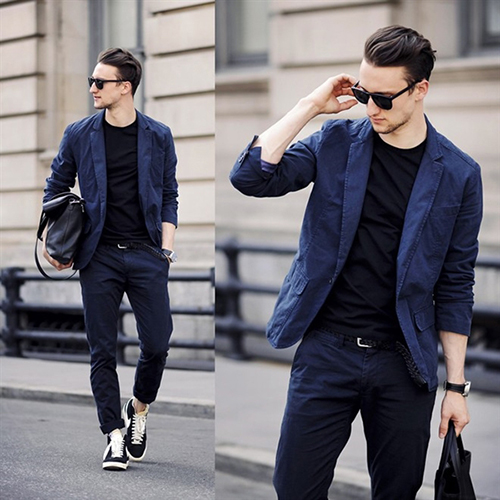 Gợi ý cách phối áo vest cùng kính râm và giày thể thao - 4