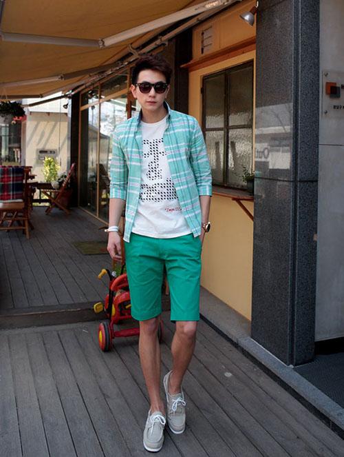 Áo thun - quần short đơn giản nhưng không đơn điệu - 8