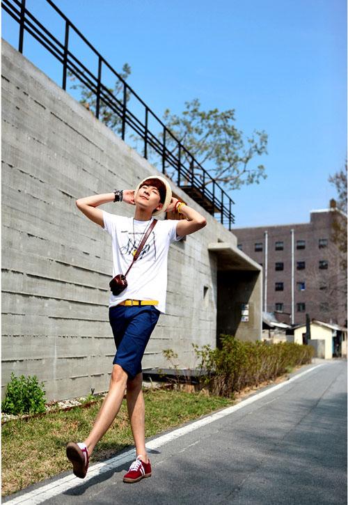 Áo thun - quần short đơn giản nhưng không đơn điệu - 4