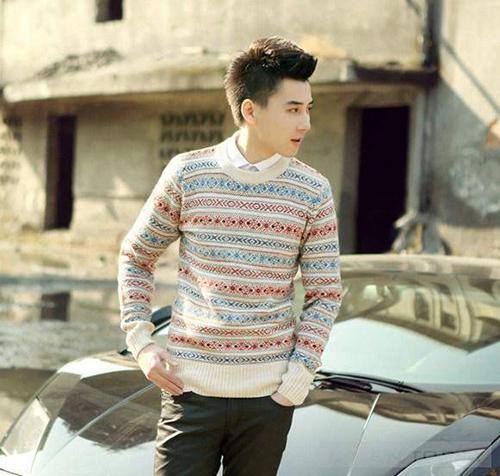 Sơ mi áo len sự kết hợp hoàn hảo cho mùa đông thêm ấm áp - 3