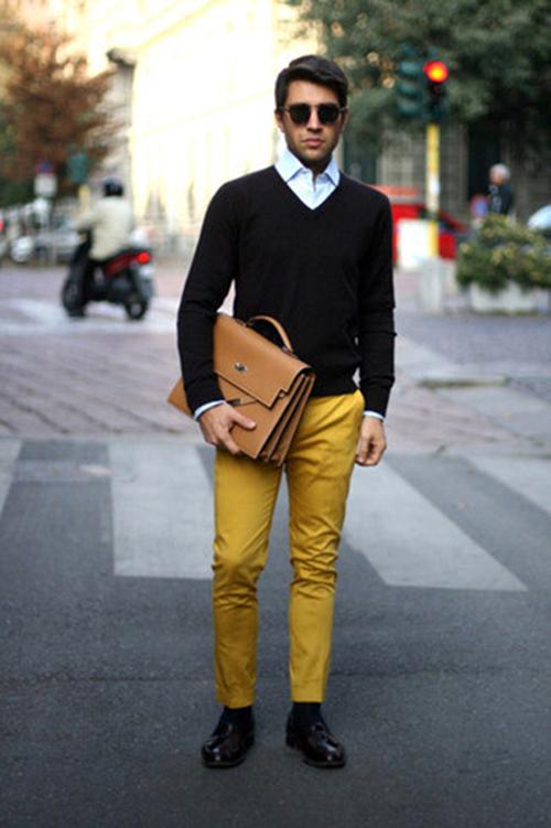 Sơ mi áo len sự kết hợp hoàn hảo cho mùa đông thêm ấm áp - 5