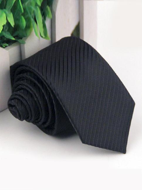 Cà vạt hàn quốc sọc đen cv53 - 1