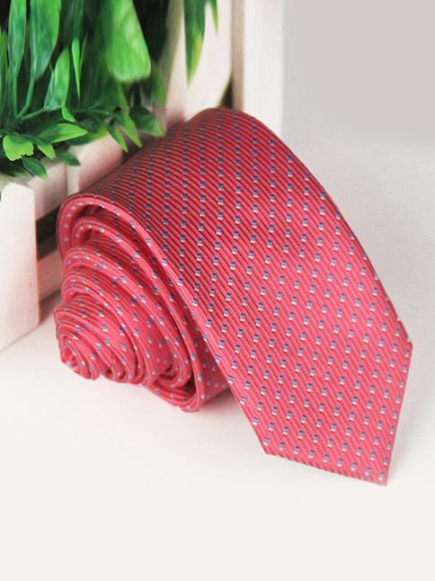 Cà vạt hàn quốc hồng cv51 - 1