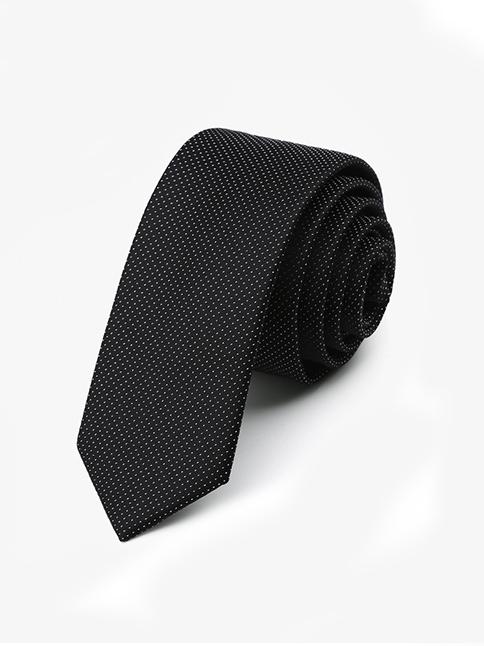 Cà vạt hàn quốc đen cv48 - 1