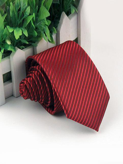 Cà vạt hàn quốc đỏ cv50 - 1