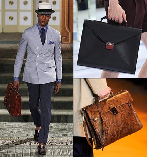 Những lí do hữu ích khiến nam giới nên mua ngay một chiếc túi xách - 3