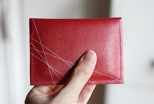 Cách làm ví da handmade độc và lạ - 6