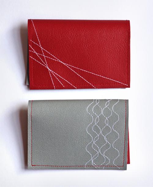 Cách làm ví da handmade độc và lạ - 5