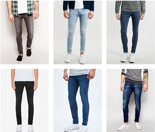 Bí quyết chọn quần jeans skinny đẹp cho nam - 2