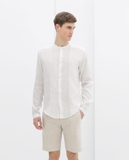 Tươi trẻ cùng bst áo sơ mi trắng xuân hè 2016 - 5