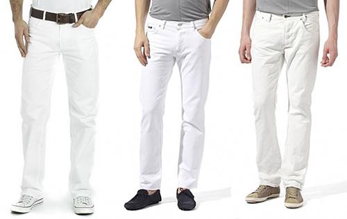 Thay đổi phong cách với quần jean màu trắng - 1