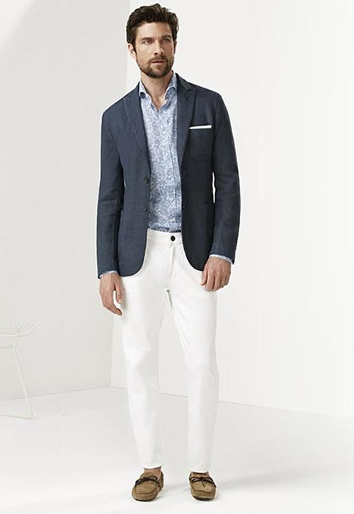 Thay đổi phong cách với quần jean màu trắng - 3