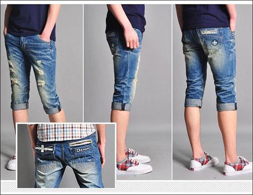 Biến quần jean cũ thành quần lửng cực chất - 4