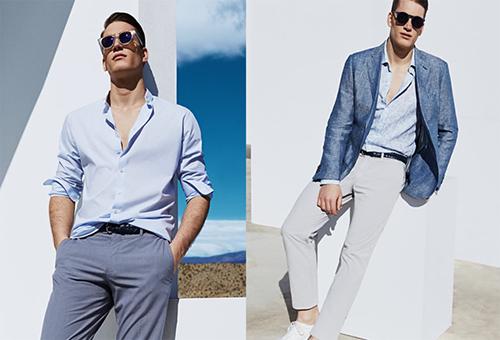 Phối áo vest nam cách điệu cá tính