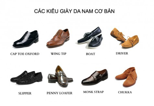 8 kiểu giày da cơ bản cho nam - 1