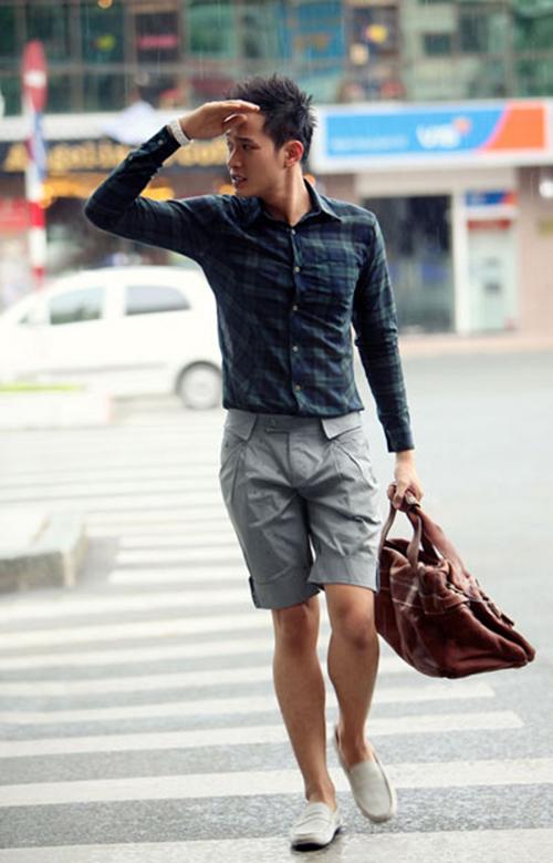 Cách chọn quần short nam cho chàng chân ngắn - 4